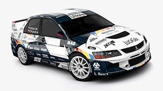 L Racing 2015 Majerčák Vejáčková Mitsubishi Lancer Evo IX Evo9 rallye design rallyedesign wrap