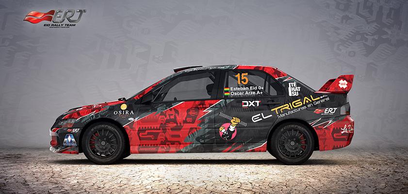 Eid Rally Team - design for season 2015